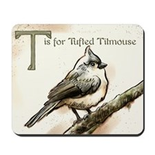 tufted titmouse Mousepad