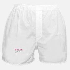 Beach girl Boxer Shorts