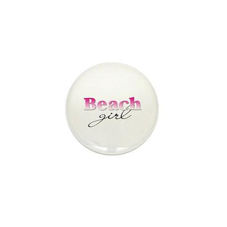 Beach girl Mini Button