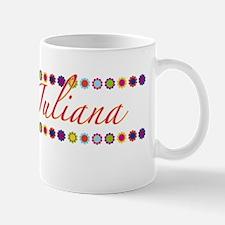 Juliana with Flowers Mug