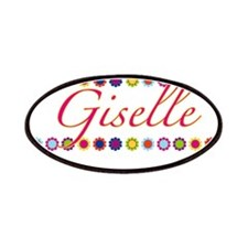 Giselle with Flowers Patches