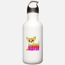 Chihuahua Sister Water Bottle