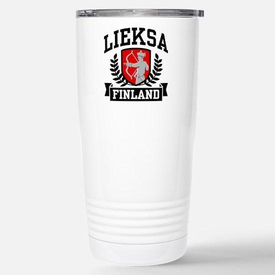 Lieksa Finland Stainless Steel Travel Mug