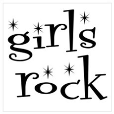 girls rock Poster
