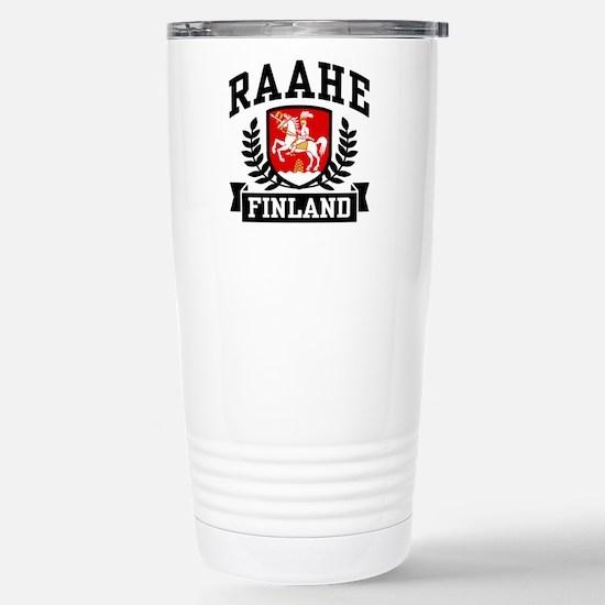 Raahe Finland Stainless Steel Travel Mug