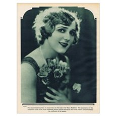 Mary Pickford 1928 Canvas Art