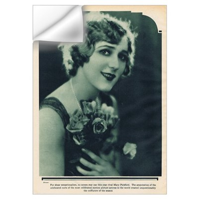 Mary Pickford 1928 Wall Decal