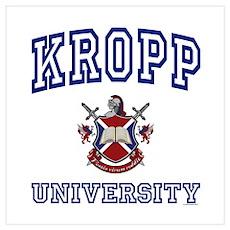 KROPP University Poster