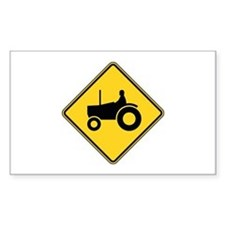Warning : Tractor Decal