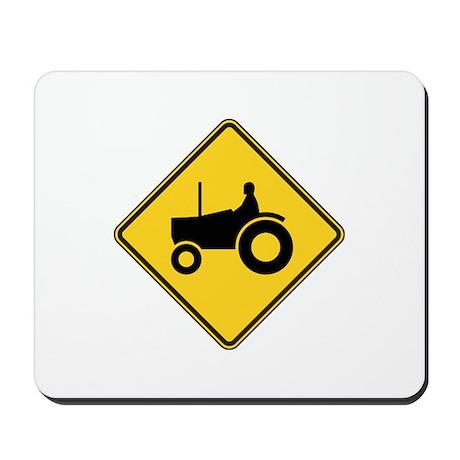 Warning : Tractor Mousepad