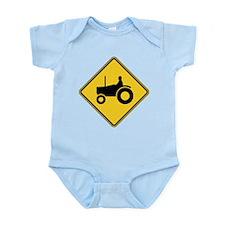 Warning : Tractor Infant Bodysuit