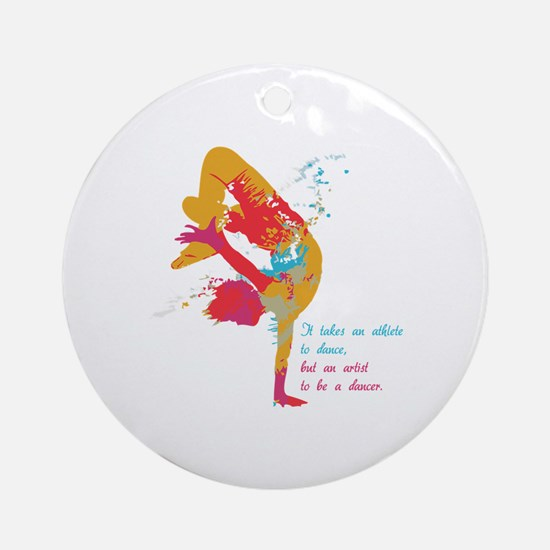 Dancer - Artist Ornament (Round)