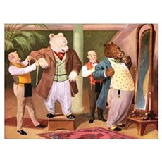 ROOSEVELT BEARS AT THE TAILORS Poster
