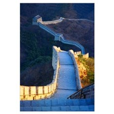 Great Wall Print Framed Print