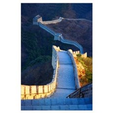 Great Wall Print Poster