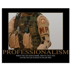 Professionalism Motivational Framed Print