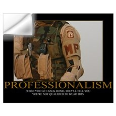 Professionalism Motivational Wall Decal