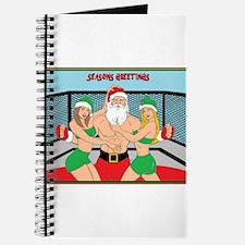 MMA Santa & Octagon Girls Journal