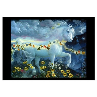 BUTTERFLY MAGIC Framed Print