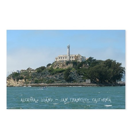 Alcatraz Island Postcards (Package of 8)