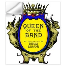Drum Major: Queen of the Band Wall Decal