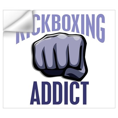 Kickboxing Addict Wall Decal