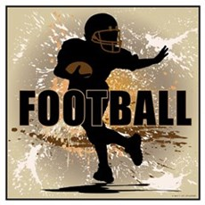 2011 Football 4 Canvas Art
