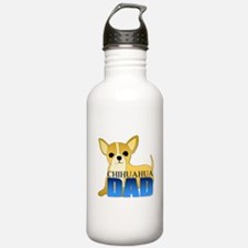 Chihuahua Dad Water Bottle