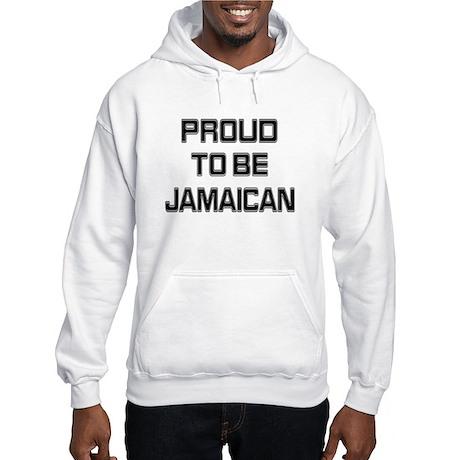 Proud to be Jamaican Hooded Sweatshirt
