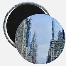 Chrysler Building Bryant Park Magnet