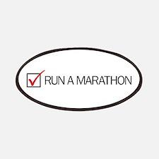 Run a Marathon Check Box Patches