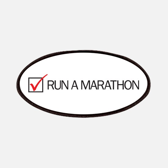 Run a Marathon Check Box Patches