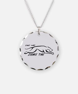 Dane Yard Zoomie Time Necklace