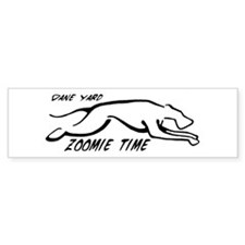 Dane Yard Zoomie Time Bumper Sticker