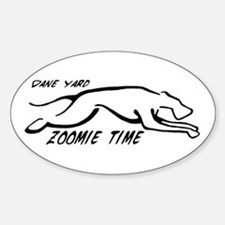 Dane Yard Zoomie Time Decal