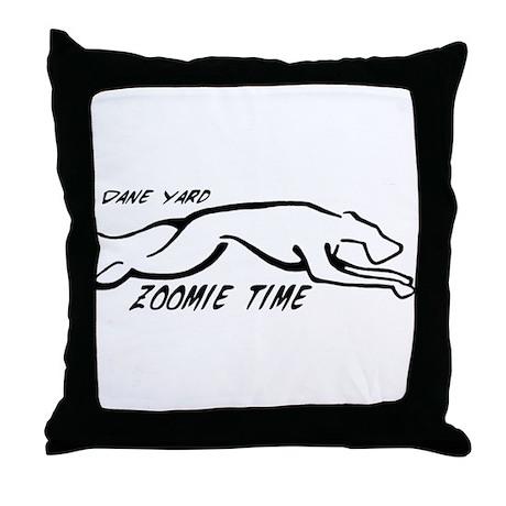Dane Yard Zoomie Time Throw Pillow