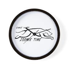 Dane Yard Zoomie Time Wall Clock