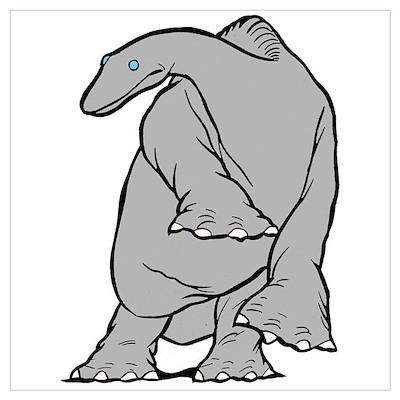 """Gertie the Dinosaur"" Poster"
