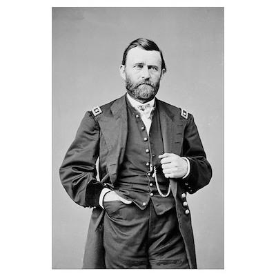 Lt Gen US Grant 1864 Poster