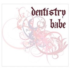 Dentistry Babe Poster
