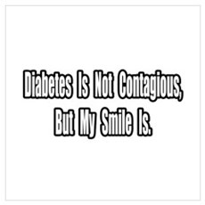 """""""Diabetes and Smiles"""" Poster"""