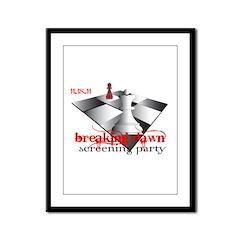 Breaking Dawn Screening Party Framed Panel Print