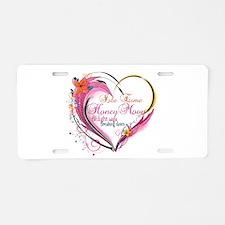 Isle Esme Honeymoon Aluminum License Plate