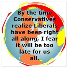 The Liberals Are Correct Canvas Art