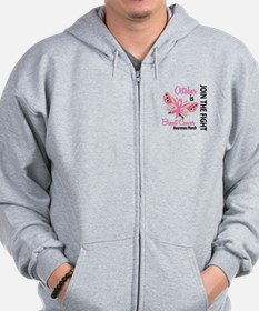 Breast Cancer Awareness Month Zip Hoodie