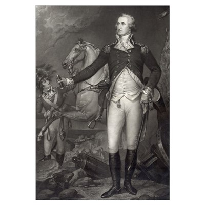 George Washington at Trenton Framed Print