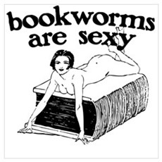 Bookworms Are Sexy Framed Print