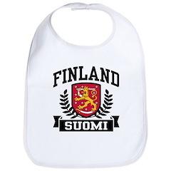 Finland Suomi Bib