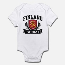 Finland Suomi Infant Bodysuit