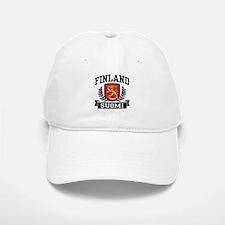 Finland Suomi Baseball Baseball Cap